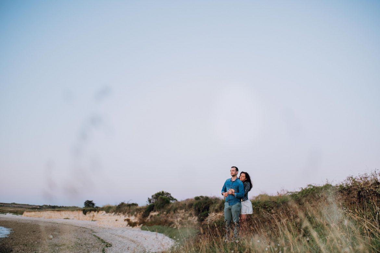 séance photos au lever du soleil sur l'île de ré par ulrike photographe à tours