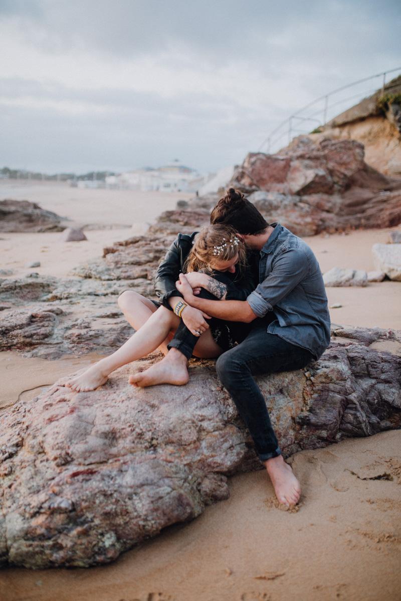 séance photo de couple en vendée par ulrike photographe à tours