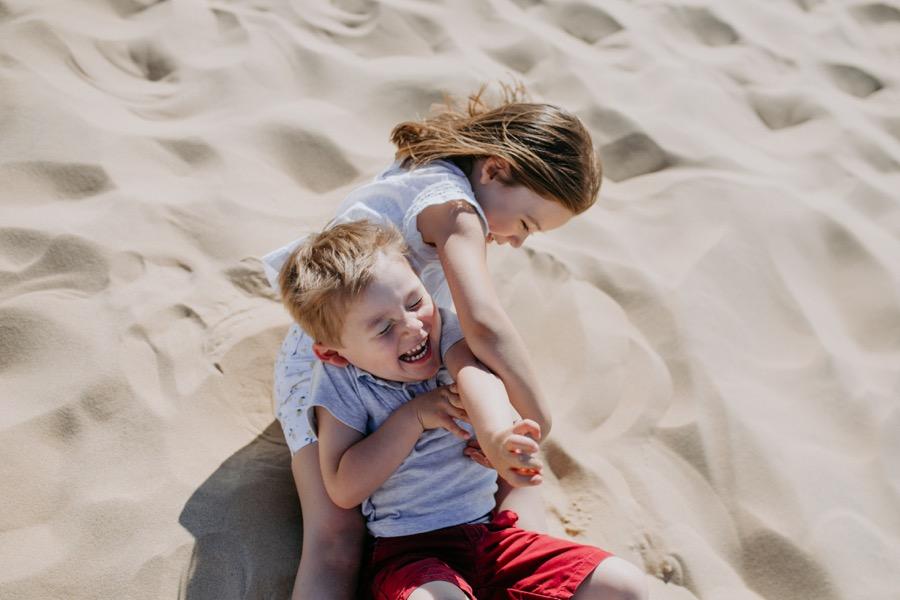 seance photos de famille à la Dune du Pilat