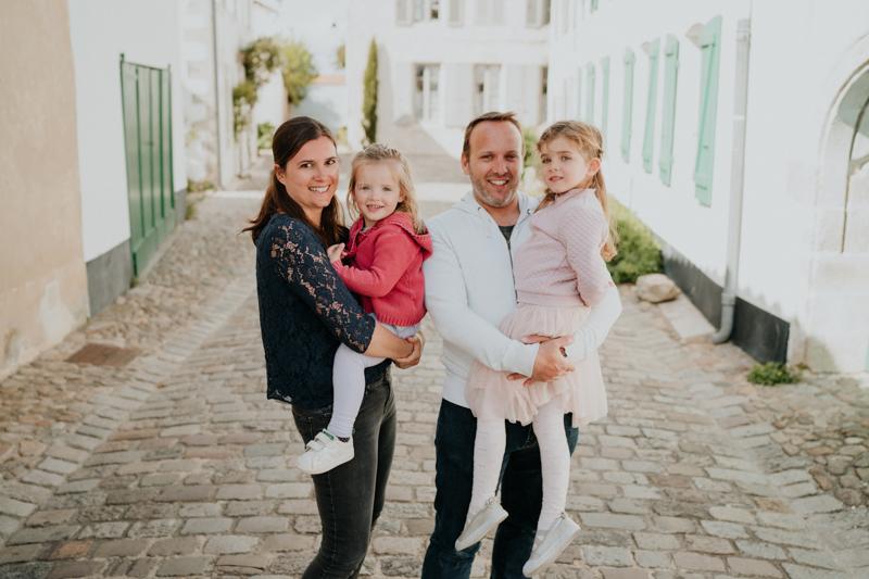 séance photo en famille sur l'Île de Ré