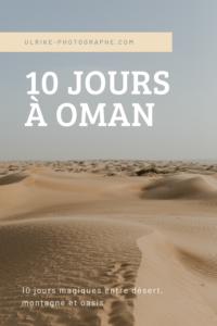 10 jours à Oman